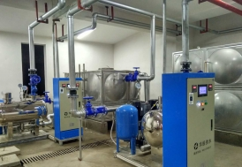 湖南长沙麓谷高新技术开发区养老院项目-智能化箱式泵站
