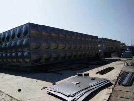 桃源县自来水加压泵站4600立方水箱