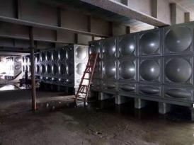 长沙地标建筑-华创国际广场1400立方水箱项目