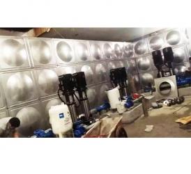 内蒙古鄂尔多斯市鄂托克前旗锦锈丽岛项目600立方不锈钢水箱+3套恒压设备
