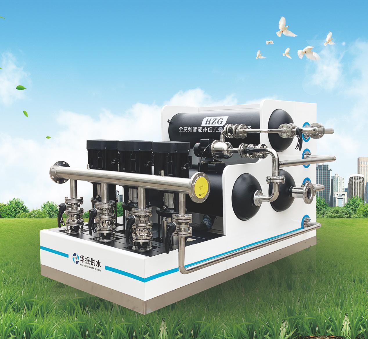 全变频智能补偿式叠压供水设备