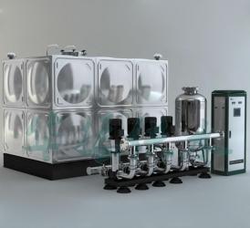 SXH智能一体化箱式泵站