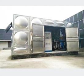 栖霞箱泵一体化供水设备
